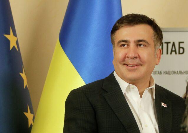 Mikhail Saakashvili, ex-presidente da Geórgia