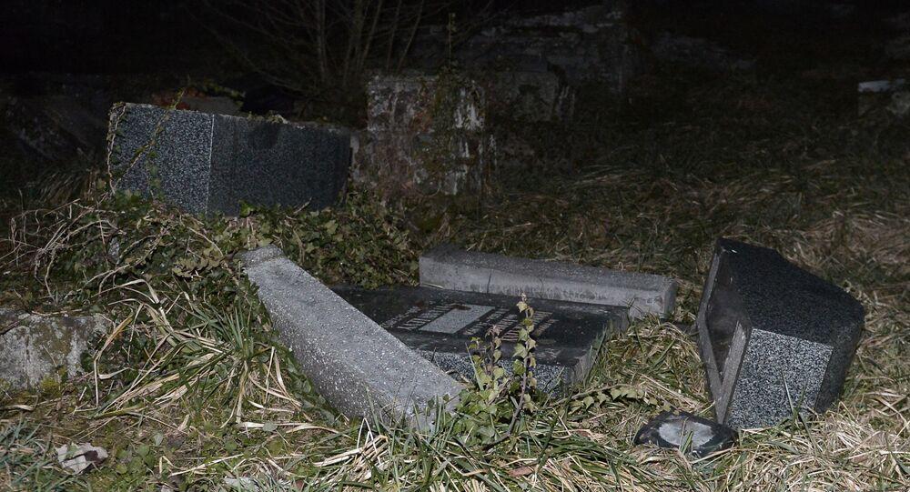Cemitério judaico de Sarre-Union, na Alsácia