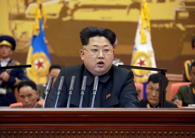 O líder norte-coreano Kim Jong-un