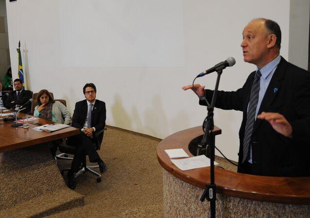 O secretário nacional de Justiça, Beto Vasconcelos, fala sobre o mais recente relatório nacional sobre tráfico de pessoas