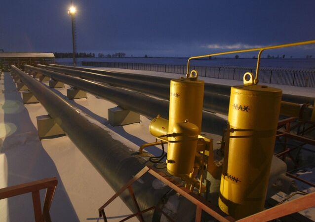 Gasoduto na Rússia