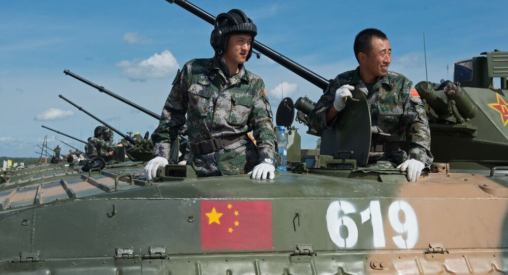 Militares das Forças Armadas da China