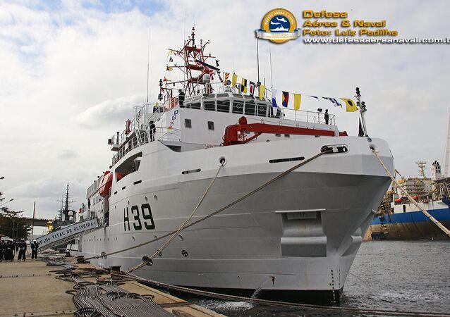 Navio de Pesquisa Hidroceanográfico, NPqHo Vital de Oliveira (H-39), no Rio de Janeiro