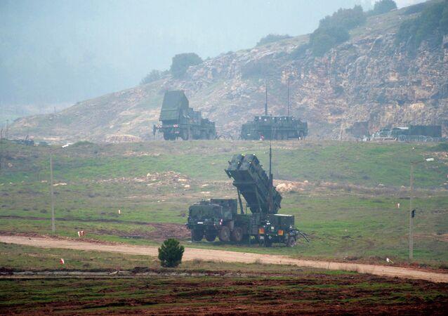 Sistema de mísseis Patriot na Turquia