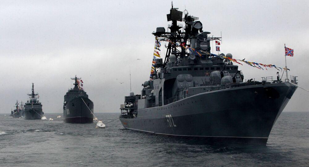 Día de la Armada de Rusia en Vladivostok