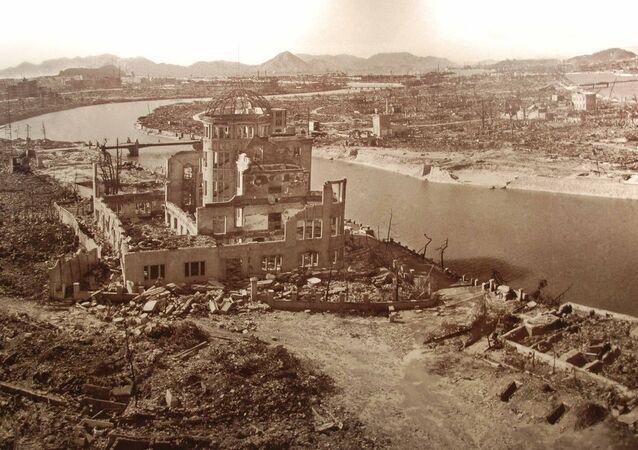 Hiroshima depois da bomba atômica
