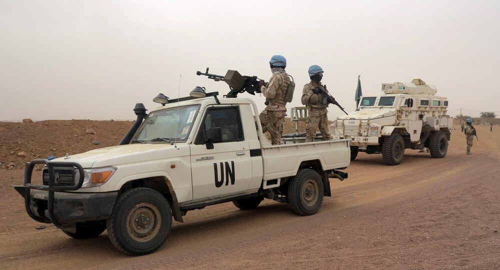 Forças de paz da ONU no Mali