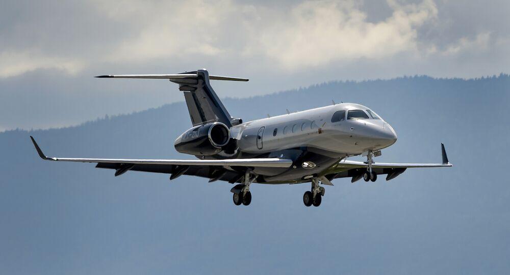 Legacy 450 da Embraer