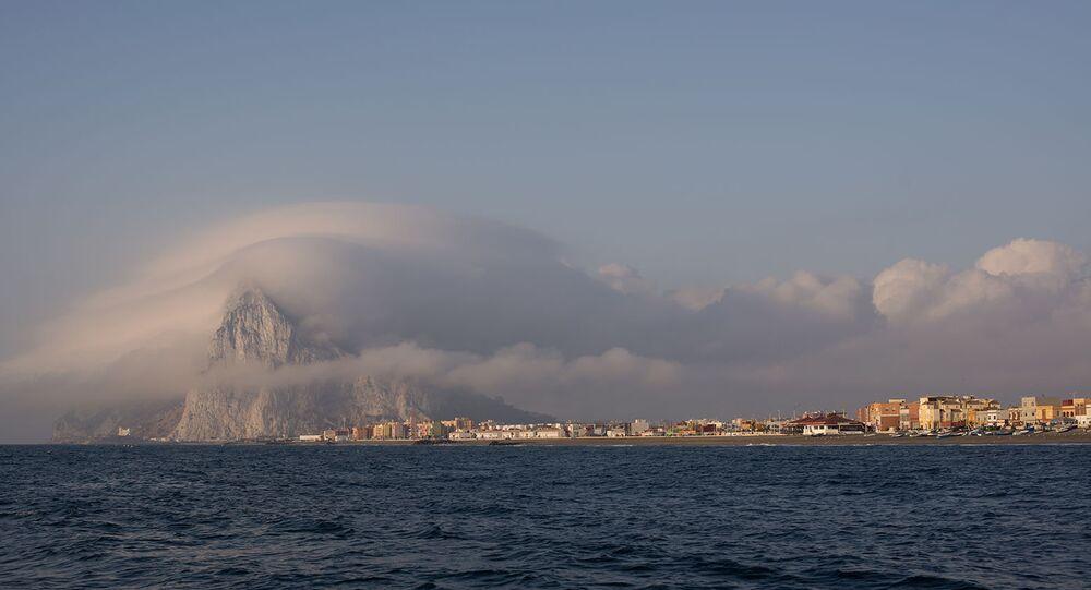 Vista de Gibraltar.