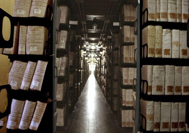 Arquivos Secretos do Vaticano (imagem referencial)