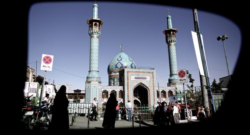 Vista de Teerã, capital do Irã