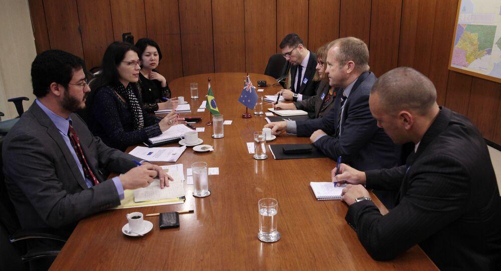 Nova Zelândia revelou o interesse de estreitar seu relacionamento comercial com o Brasil, principalmente no setor agrícola