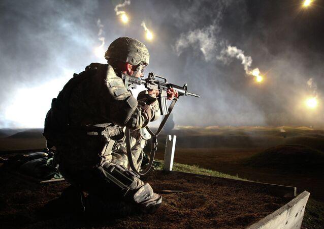 Soldado das Forças Armadas dos EUA