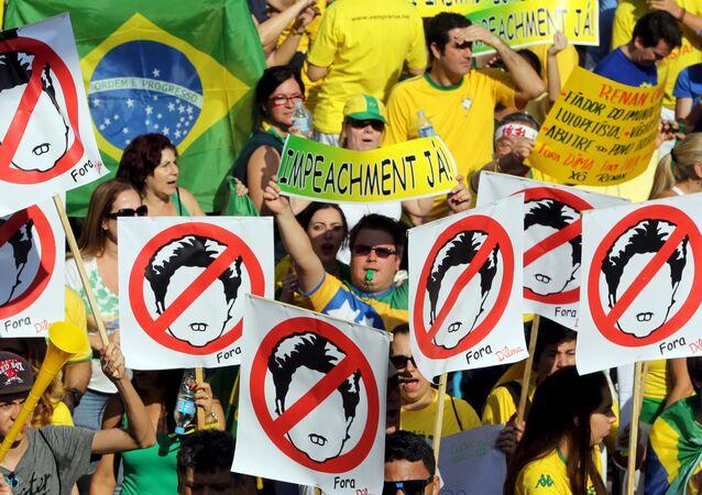 Protestos contra a presidente do Brasil, Dilma Rousseff