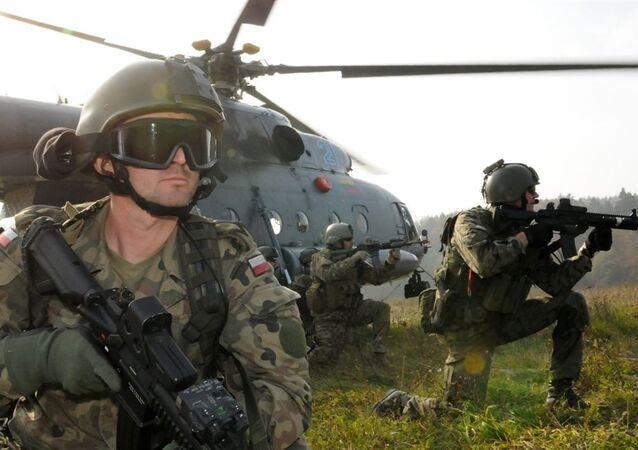 As forças militares da OTAN