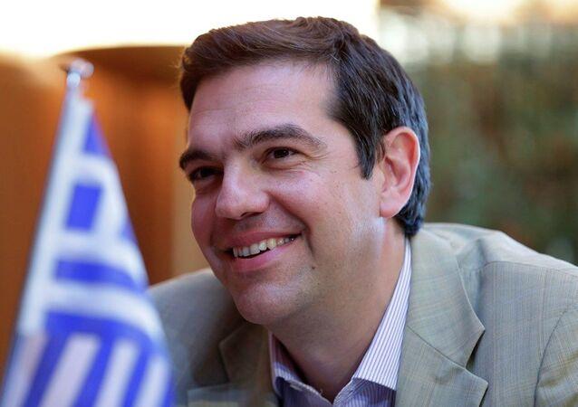 Primeiro-ministro da Grécia, Alexis Tsipras
