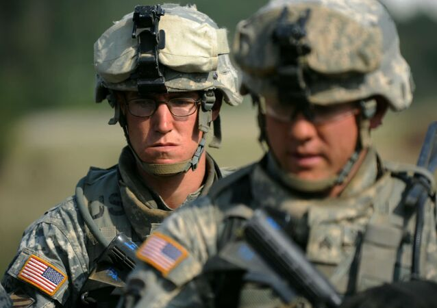 Militares norte-americanos.