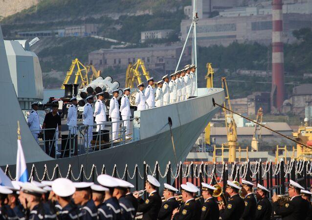 Exercícios navais sino-chineses Cooperação Marítima-2015