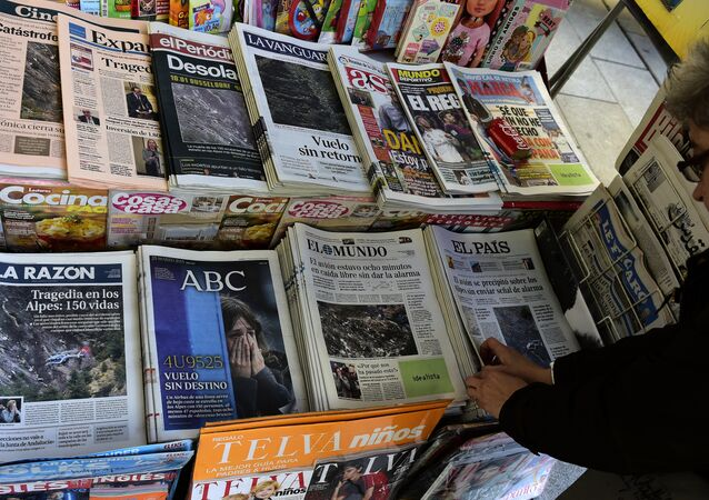 Jornais e revistas da Europa