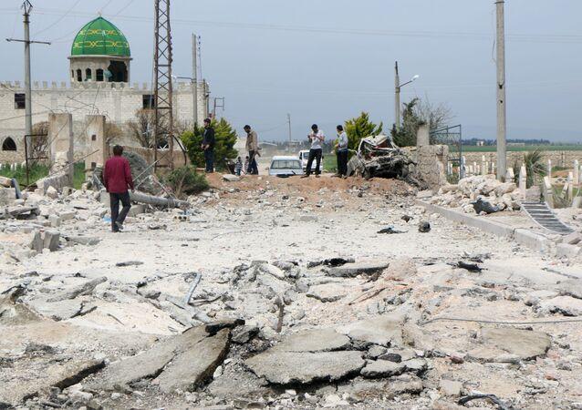 O Estado Islâmico anunciou ter ocupado a cidade de Marea, onde em abril o grupo explodiu um carro-bomba.
