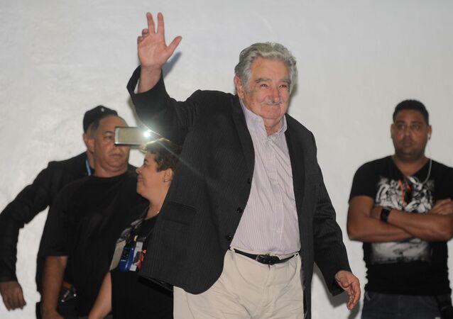 José Mujica, ex-presidente do Uruguai, na Uerj