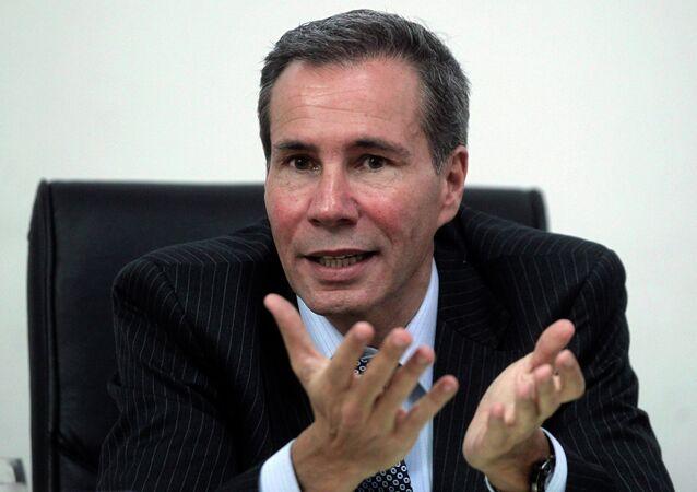 Alberto Nisman, promotor argentino