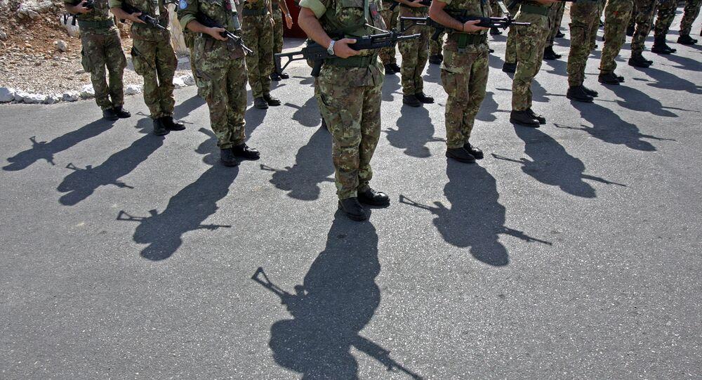 Forças de paz internacional