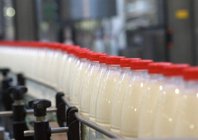 Fabricação de leite