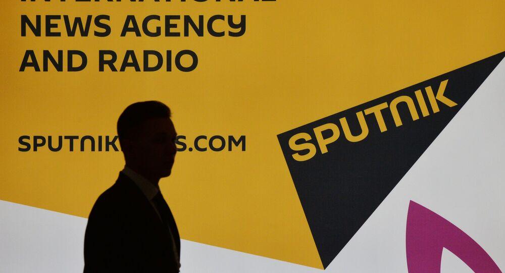 A agência de notícias Sputnik