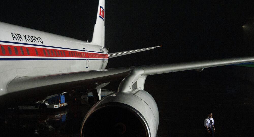 Tupolev 204 da Air Koryo Airlines.