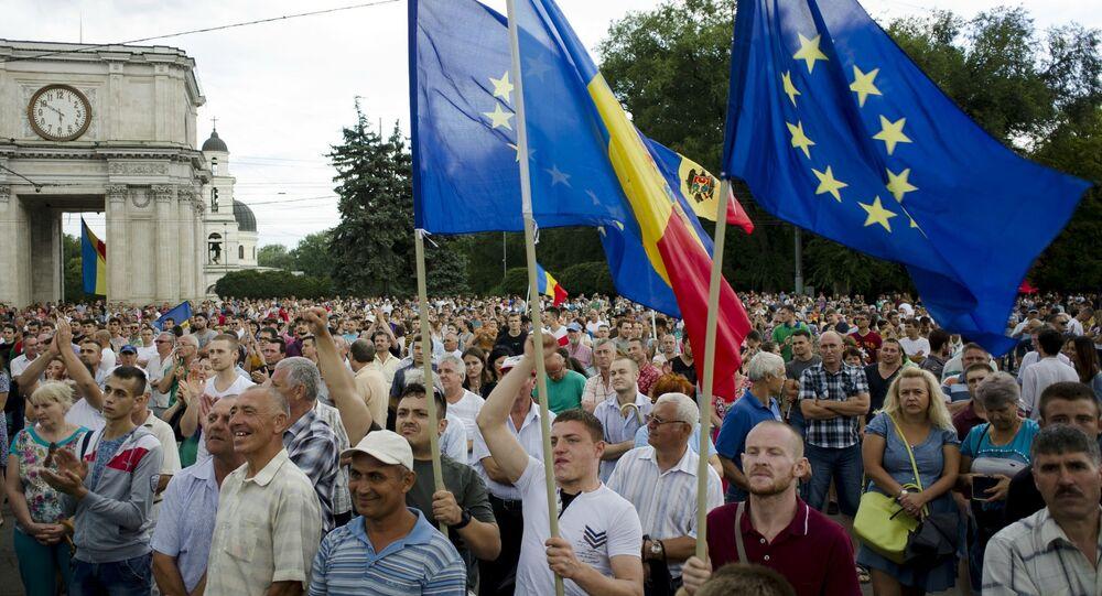 Protestos na Moldávia, 6 de setembro de 2015
