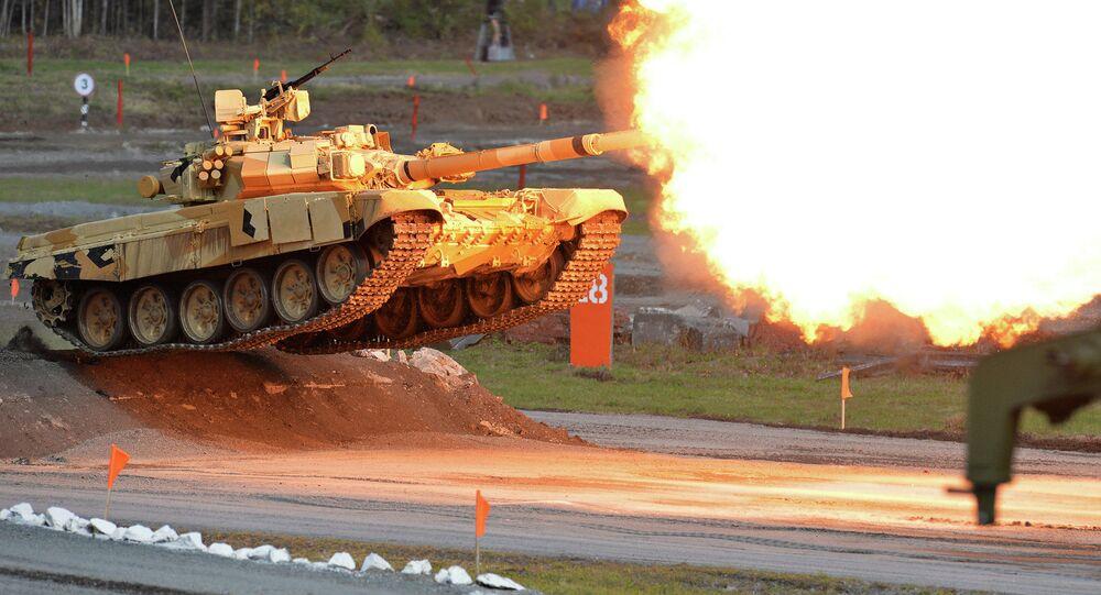 Show de tiros realizado no âmbito da exposição internacional de equipamento militar Russia Arms Expo (RAE)