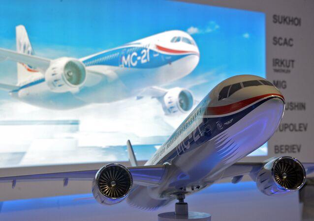 Avião russo MS-21