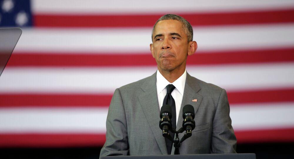 Barack Obama, presidente dos Estados Unidos (EUA)