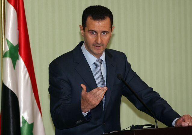 Presidente da Síria Bashar Assad