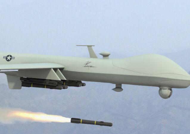 Drone Predator da Força Aérea dos EUA