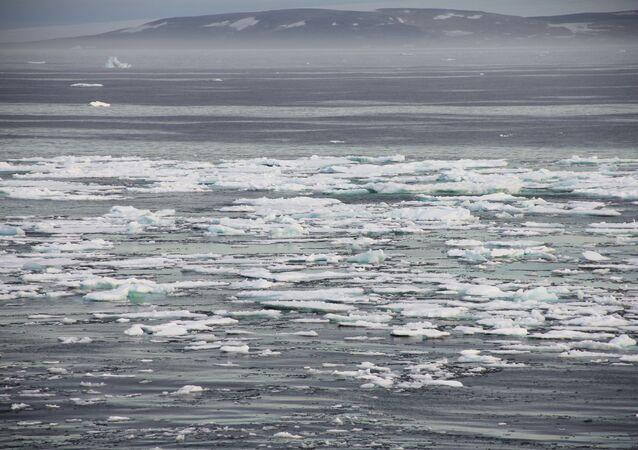 Zona ártica (foto de arquivo)