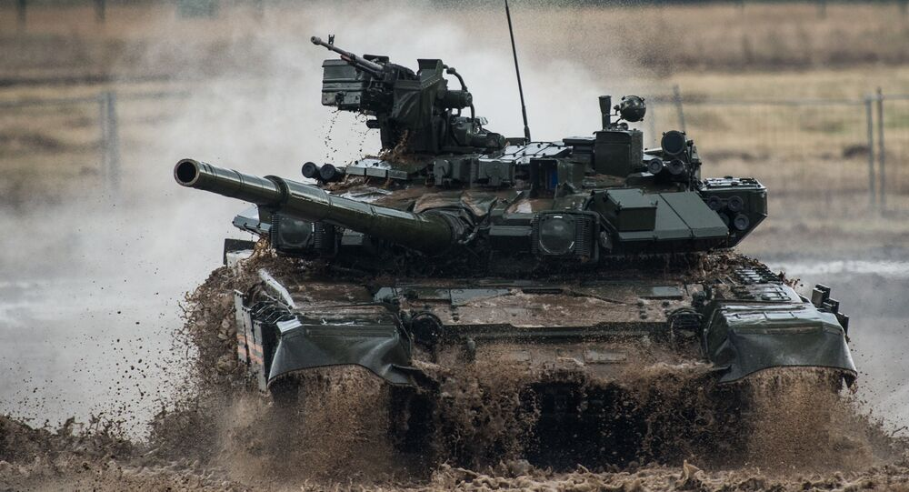Tanque russo T-90