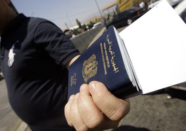Passaportes da Síria