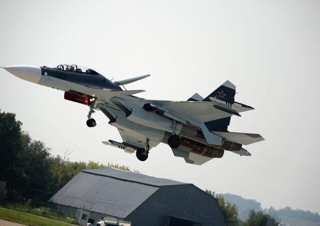 Caça russo Su-30SM