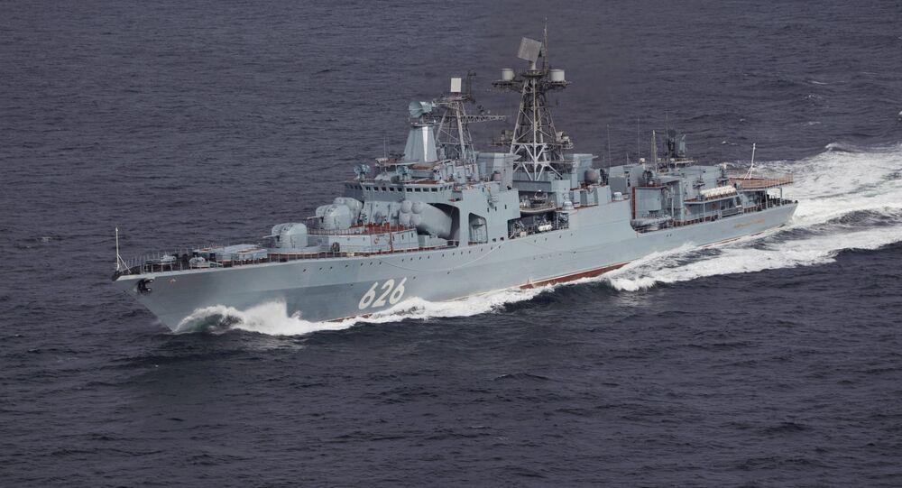 Destroier russo Vitse-Admiral Kulakov
