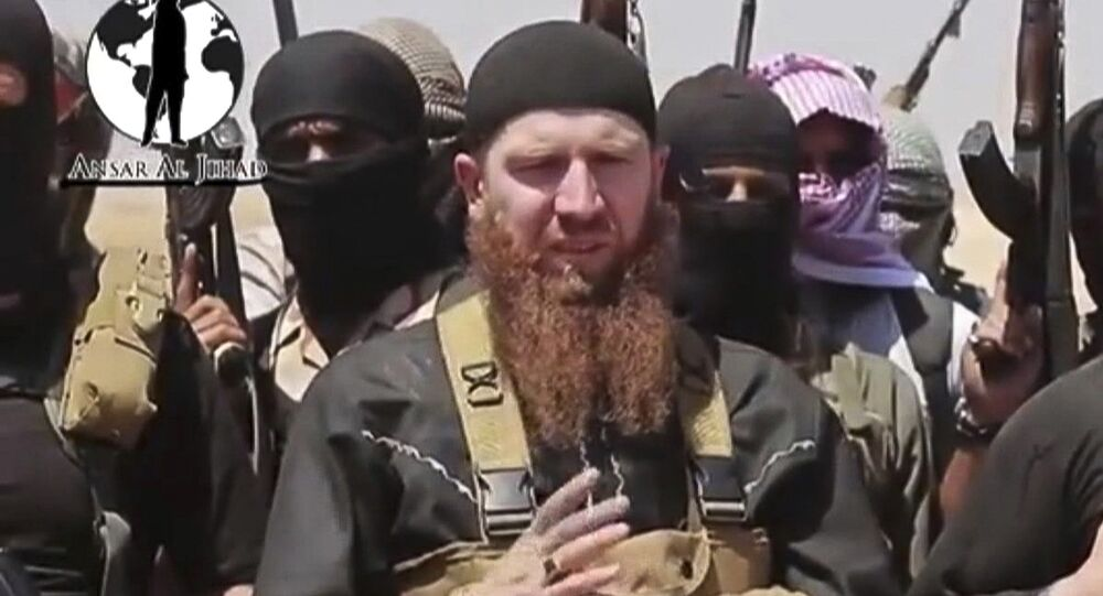 Comandante do Estado Islâmico Abu Omar al-Shishani