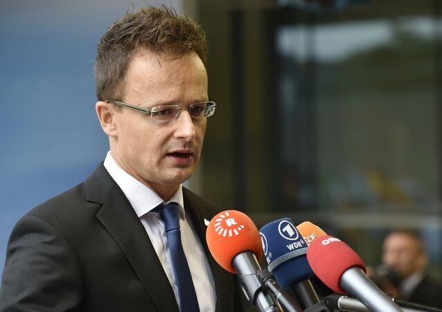 Peter Szijjarto, ministro das Relações Exteriores da Hungria