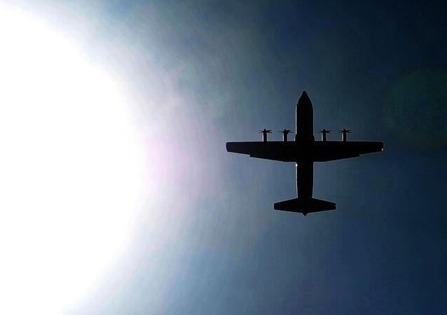 Avião de vigilância C-130J da Força Aérea do Canadá