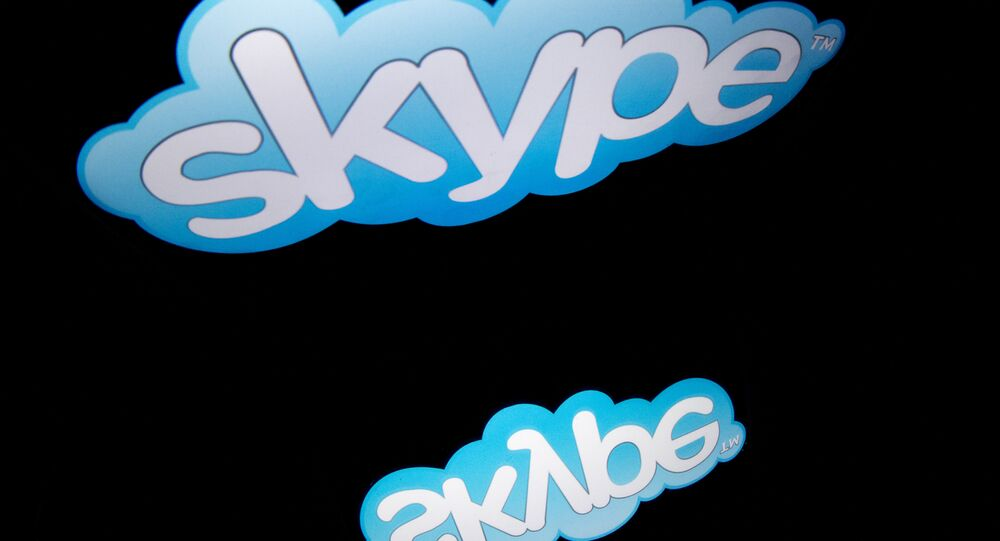 Logo da Skype