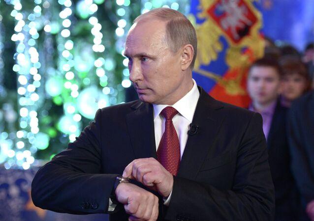 Presidente russo Valdimir Putin