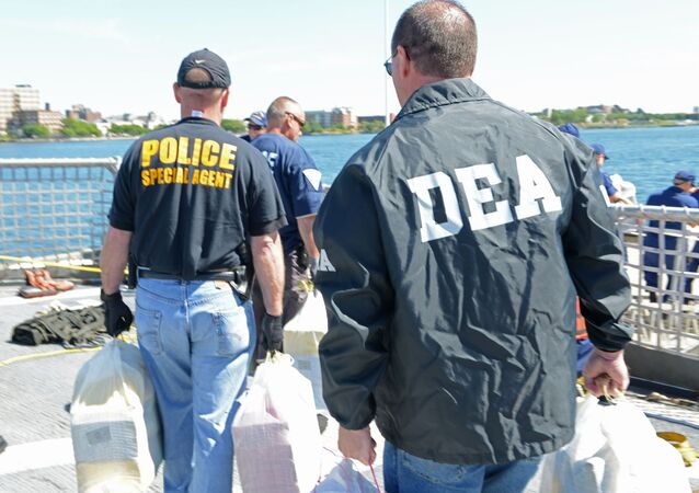 Agentes da DEA (Drug Enforcement Administration)
