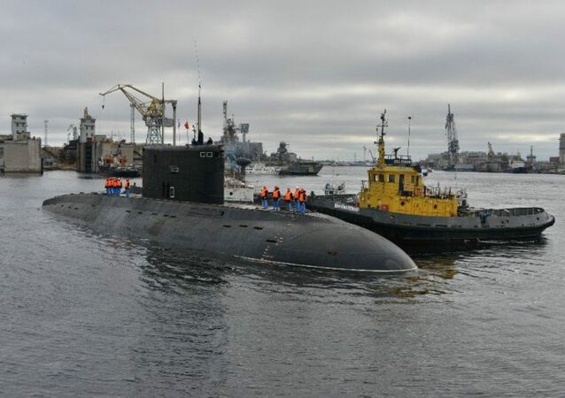 Submarino Vladikavkaz diesel-elétrico classe Kilo