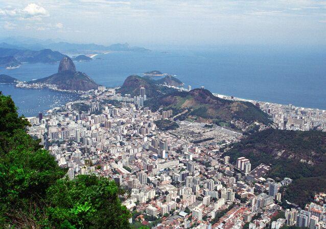Vista do Rio de Janeiro no verão