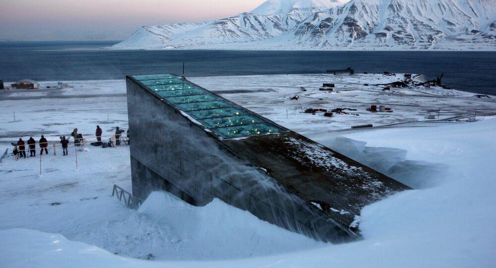 Silo Global de Sementes de Svalbard